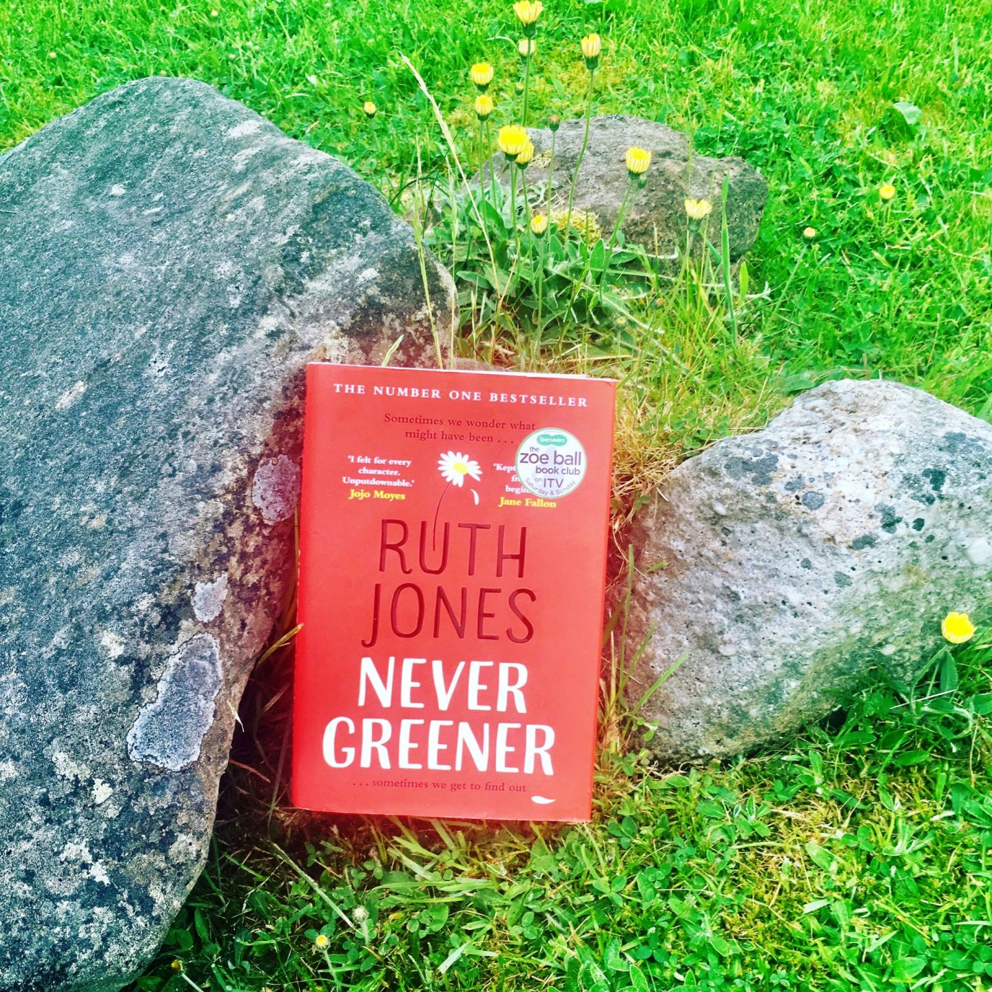 Ruth Jones and Never Greener at The Hay Festival