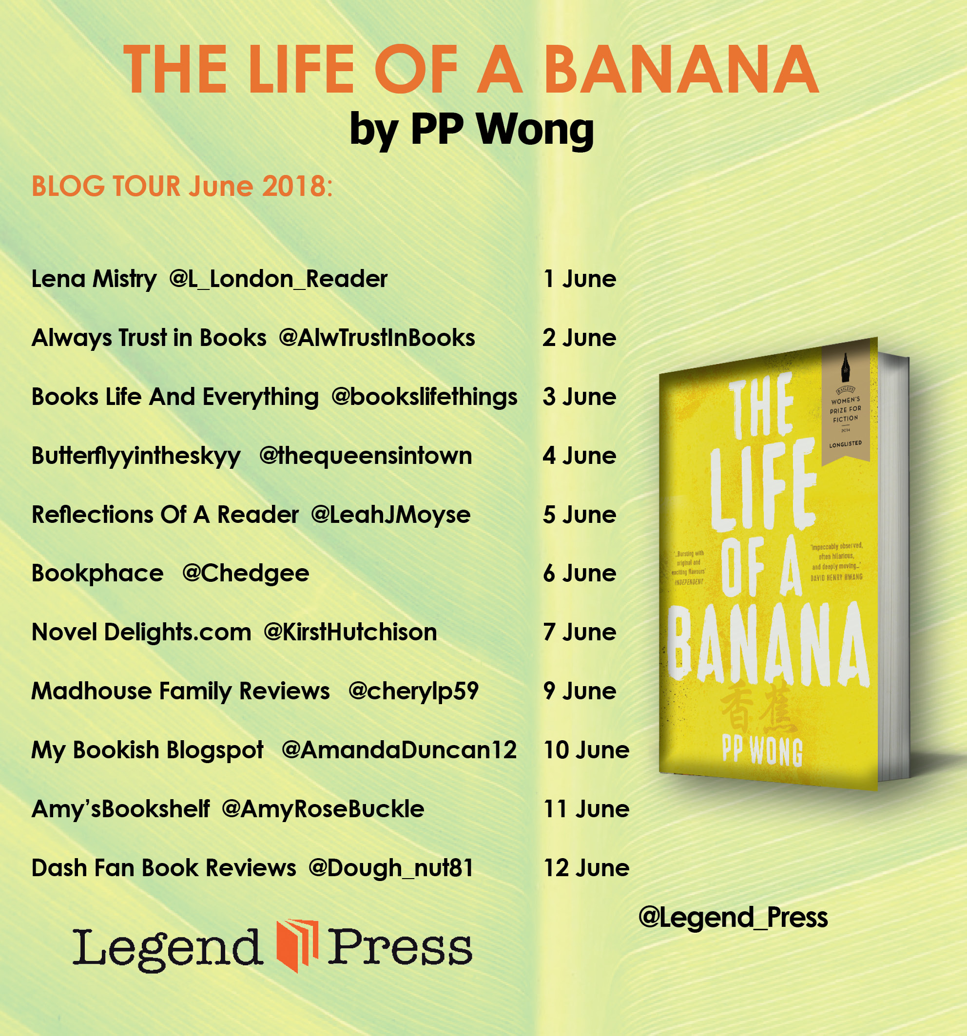 The Life Of A-Banana-Blog-Tour-Banner