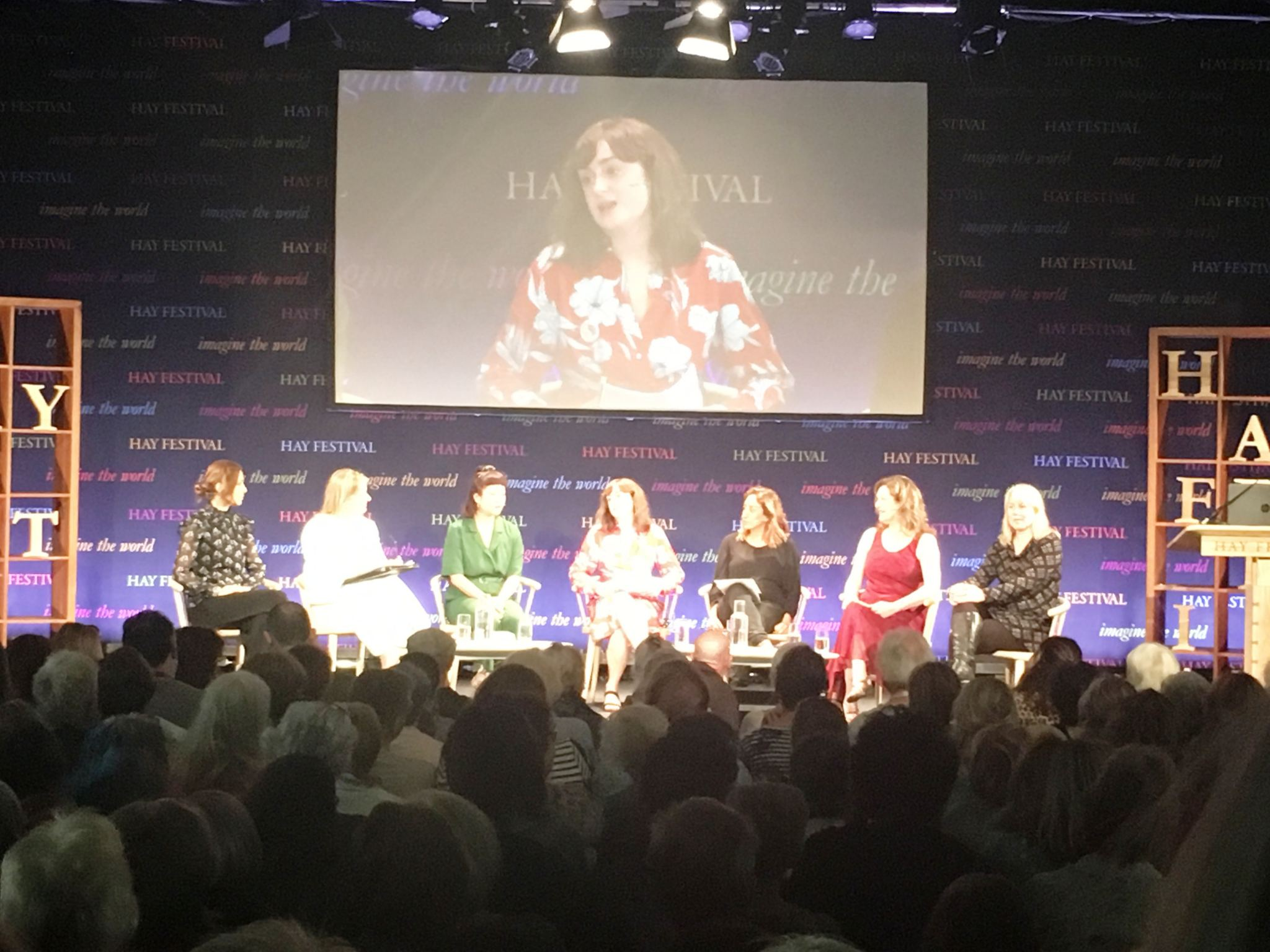 #Vote100Books-panel-at-Hay-Festival