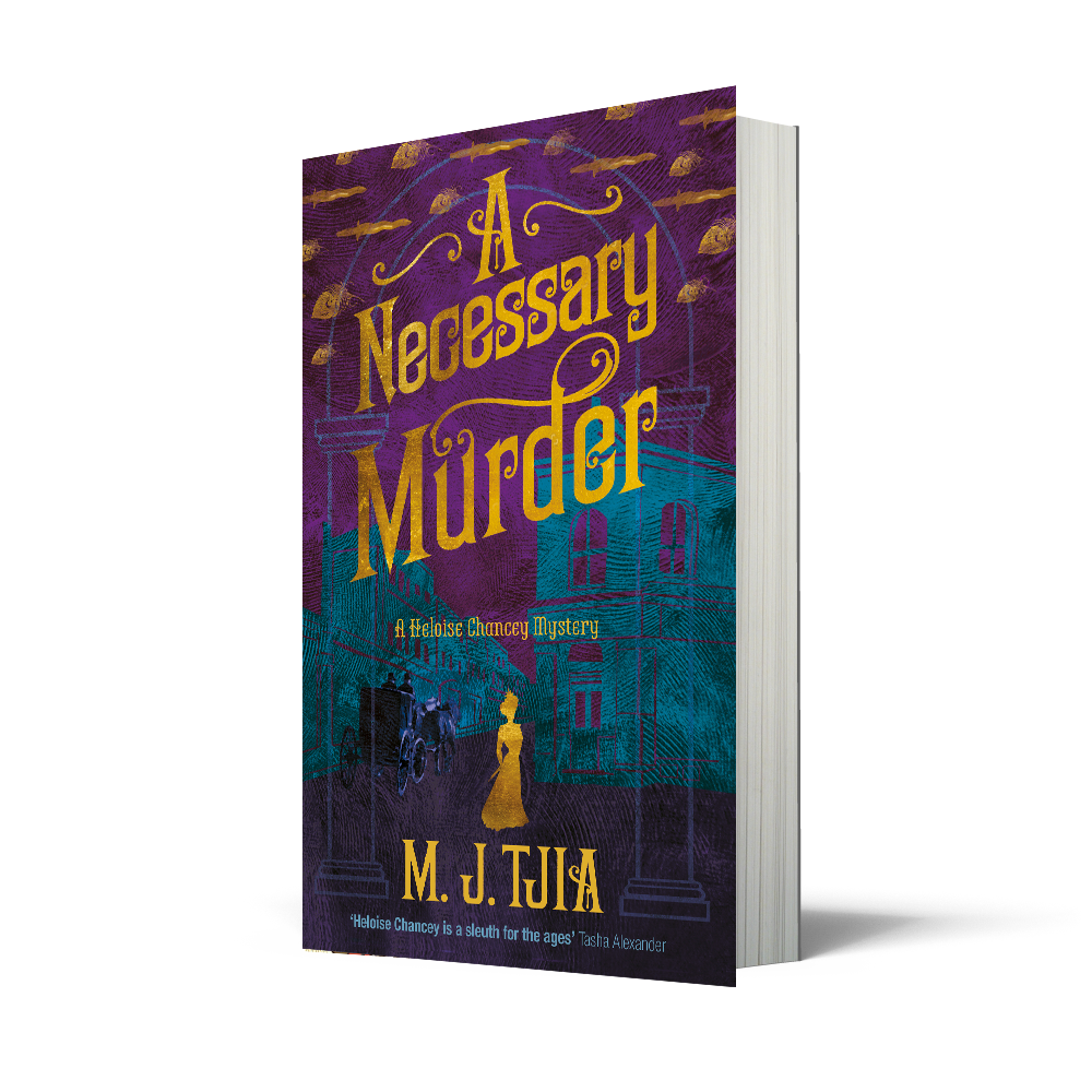 Kicking off the Blog Tour: A Necessary Murder