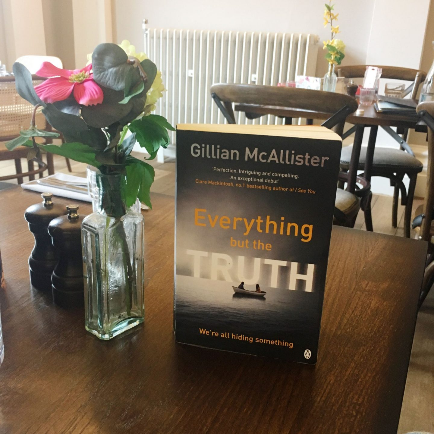 Book group pick: Everything But The Truth