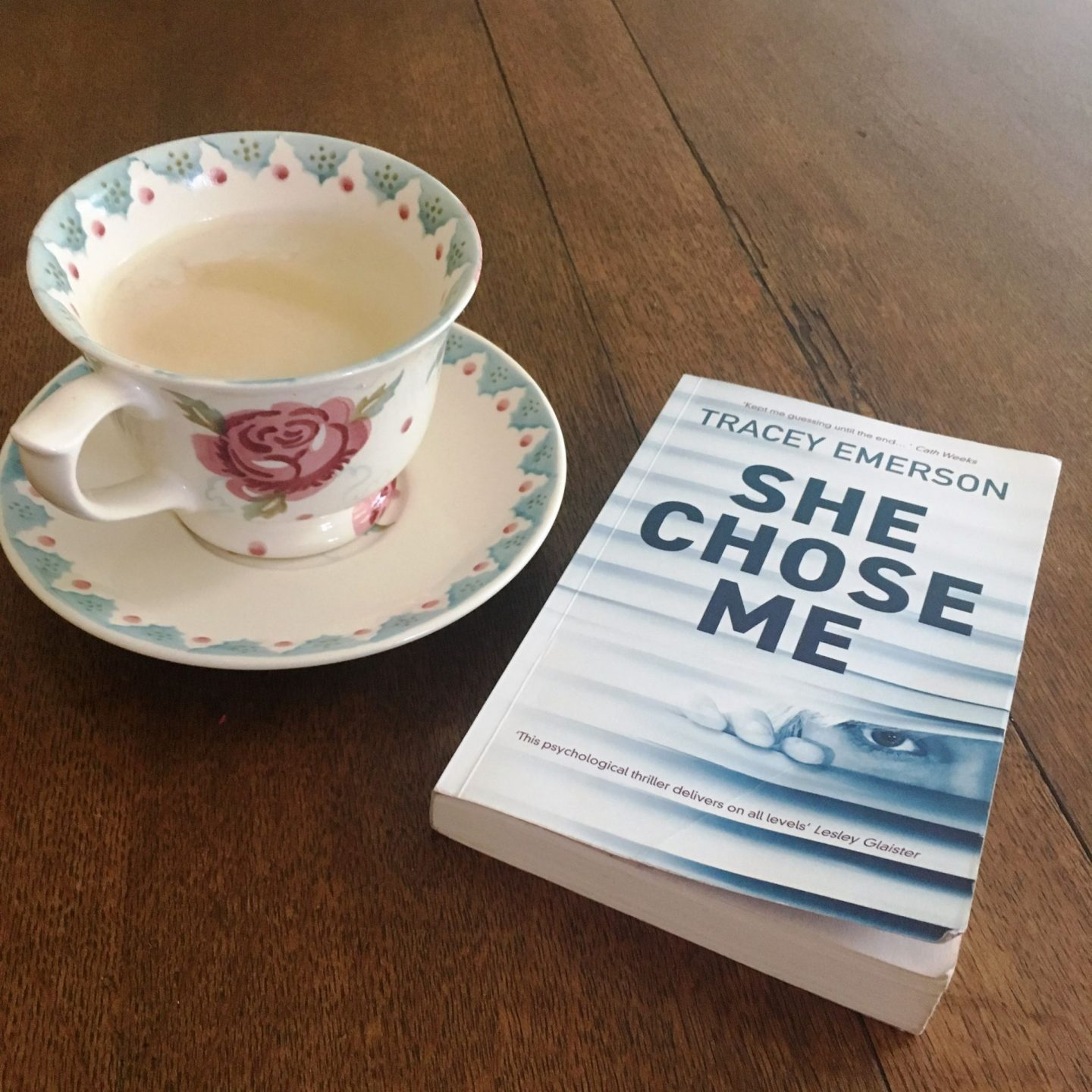 She Chose Me: a new psychological thriller that needs to be read