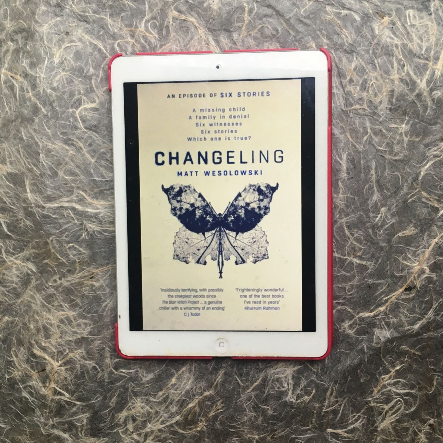 Changeling; a truly gripping thriller