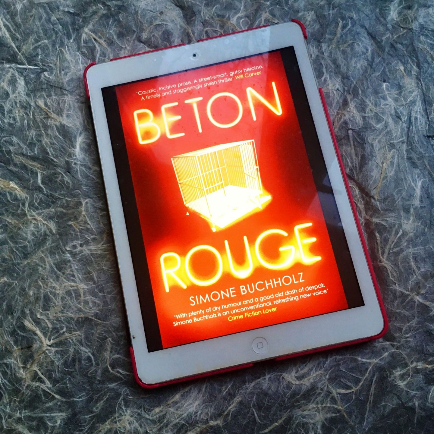 Beton Rouge; a dark thriller full of wit & sarcasm