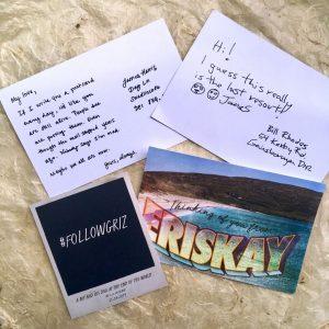 Postcards-and-#FollowGriz