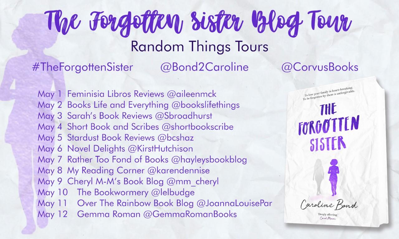 The-Forgotten-Sister-Blog-Tour-Poster