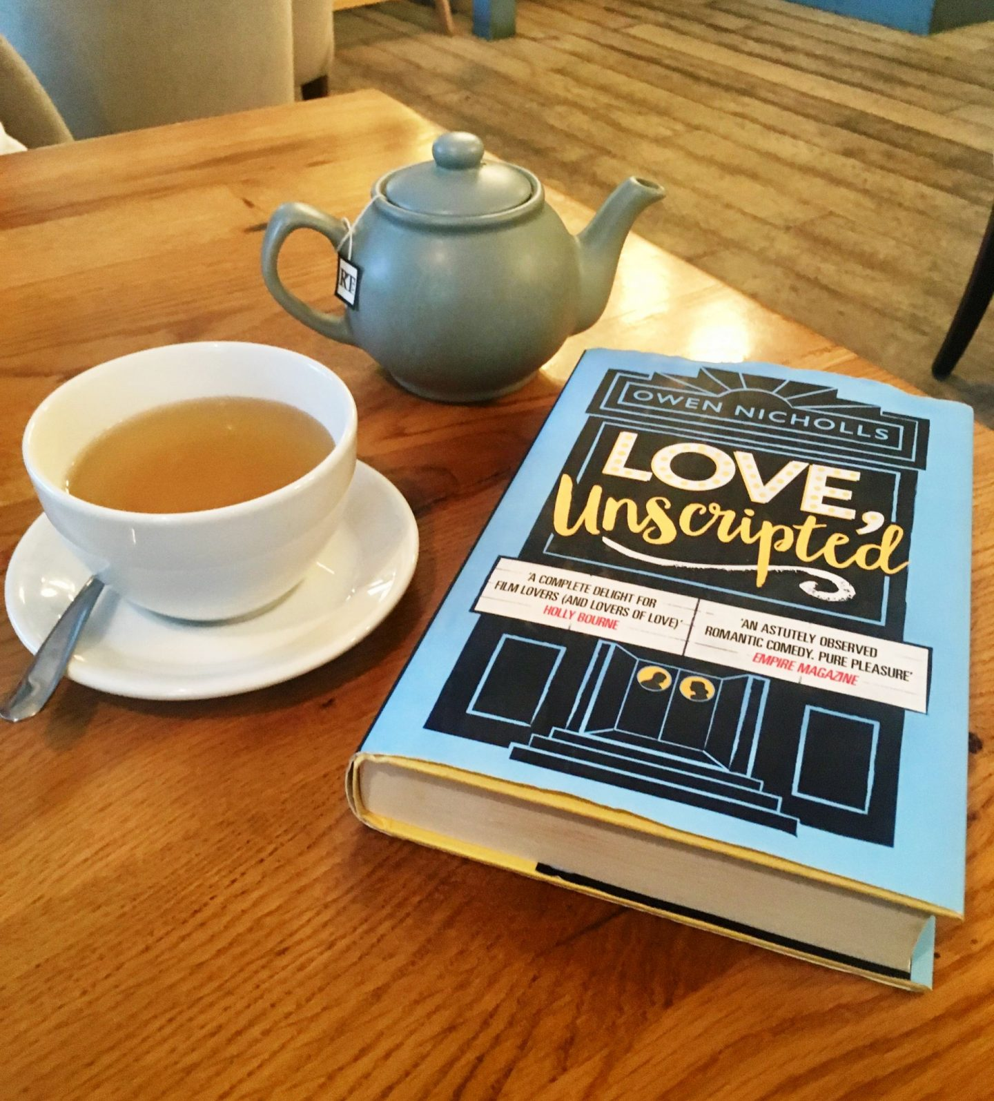 Love Unscripted; destined to fall in love with this book