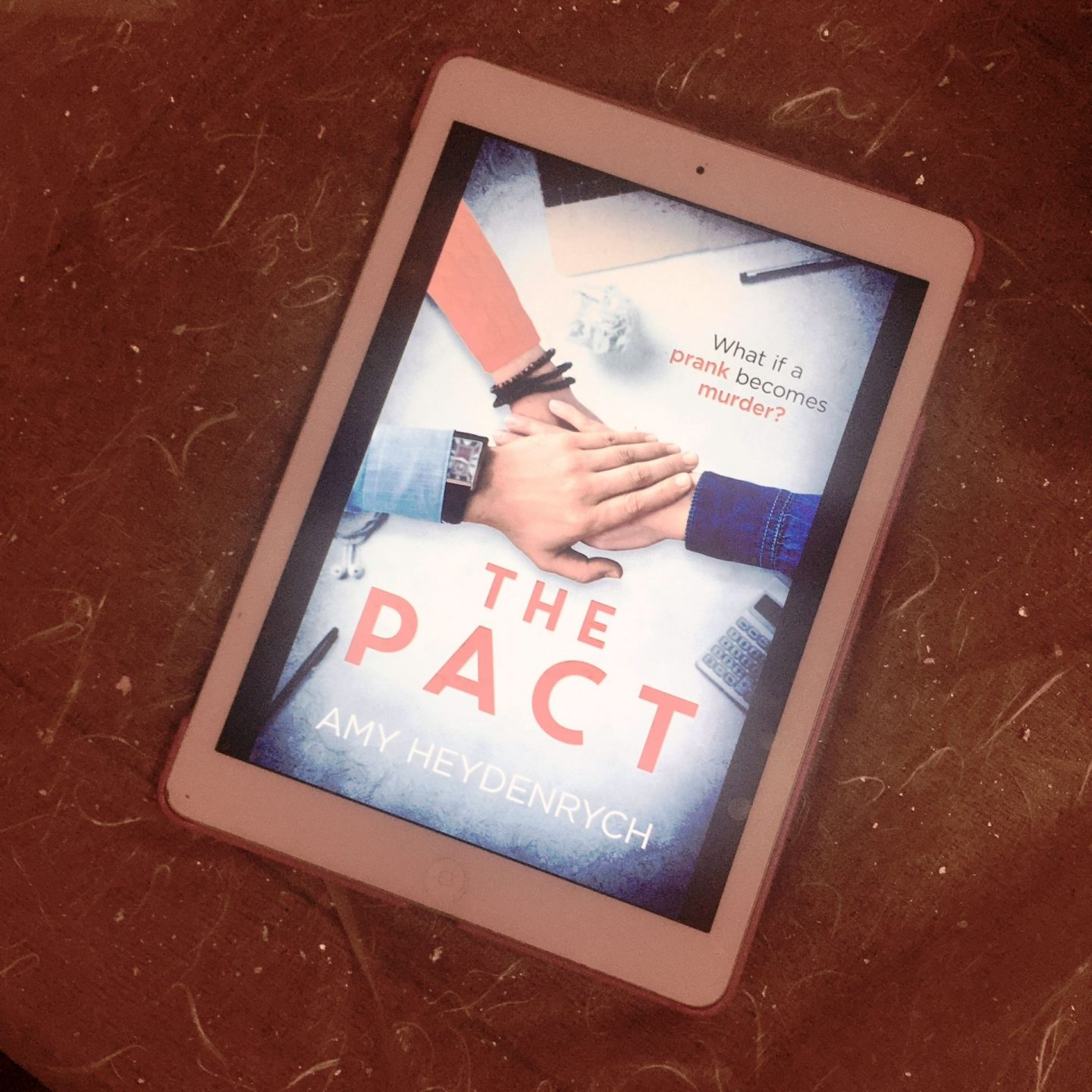 The Pact; a dark, twisting thriller