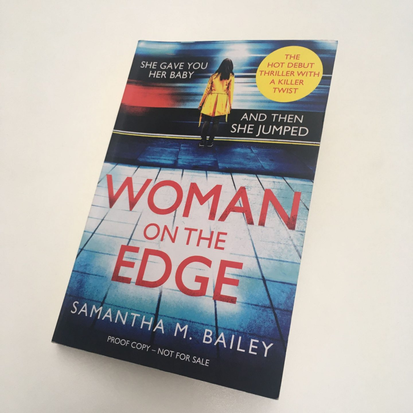 Woman on the Edge; a thriller with a true emotional edge