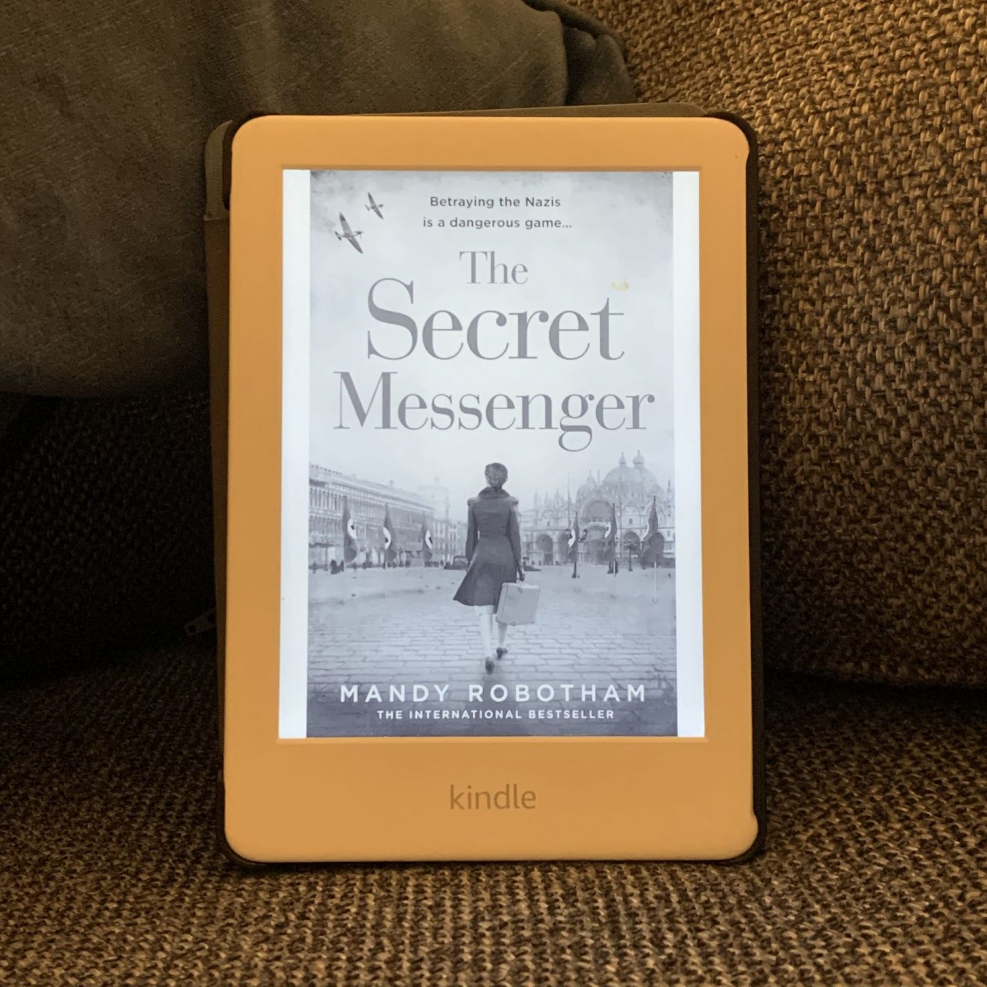 The Secret Messenger; a gripping war time read
