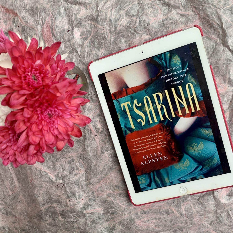 Tsarina; a sweeping, sensual historic portrayal