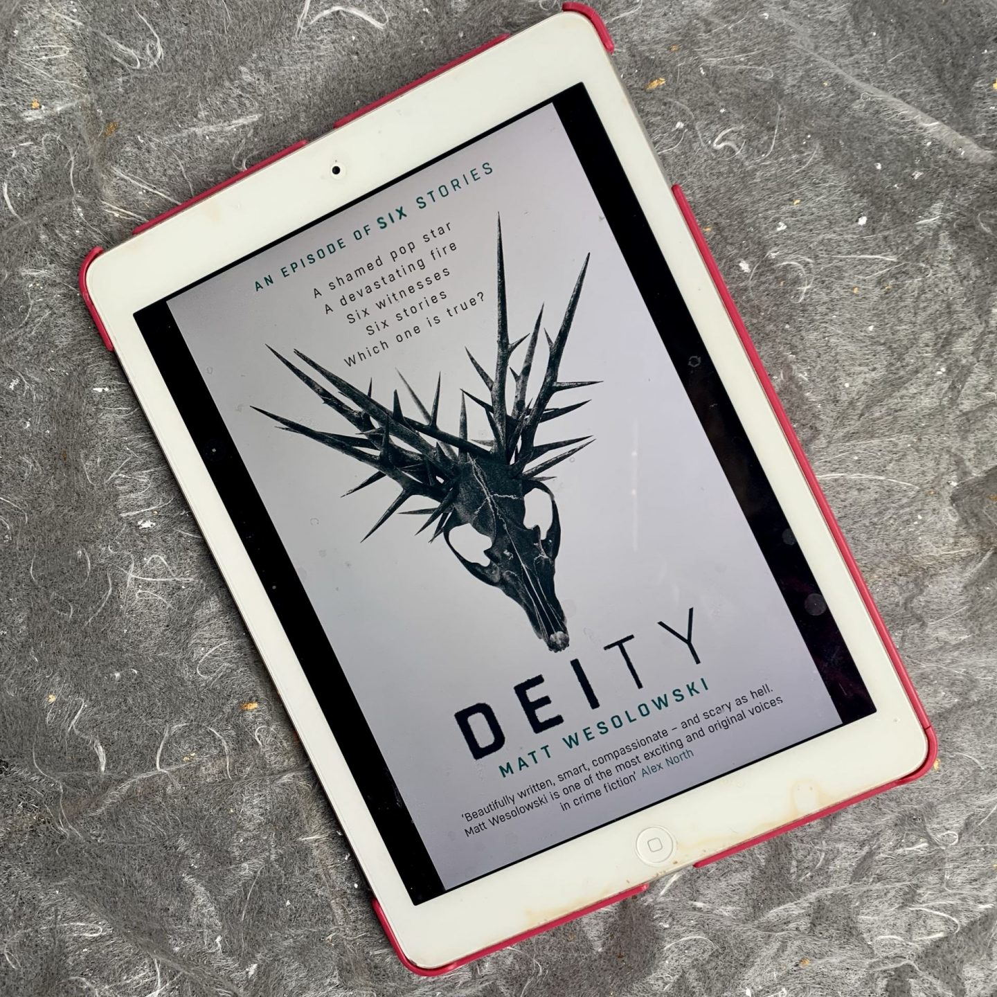 Deity; a sinister thriller seeped in folklore